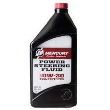 MERCURY POWER STEERING FLUID   0W-30         1lt