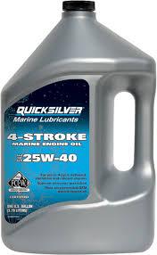 QUICKSILVER OLIO 4-STROKE 25W40    4lt
