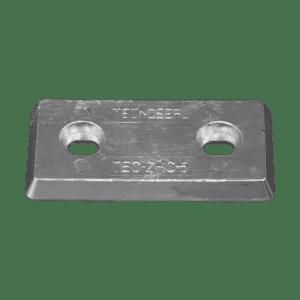 TECNOSEAL ANODO A PIASTRA RETTANGOLARE INSERTO CENTROFORO 100-110